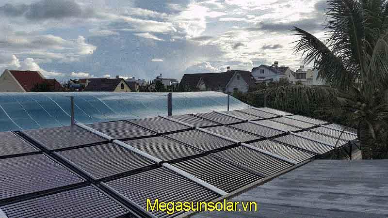 Hệ thống nước nóng năng lượng mặt trời tấm phẳng