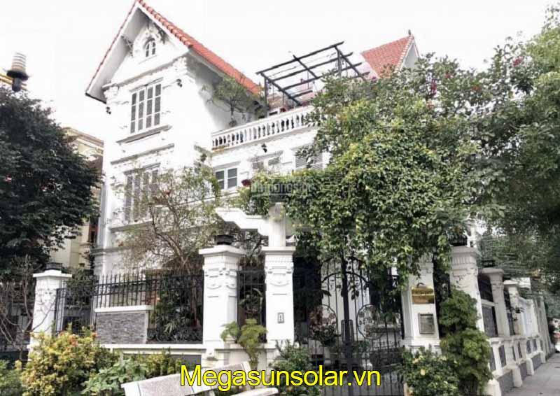 Dự án bơm nhiệt Megasun tại Biệt thự Hồng Dư, Khu đô thị Việt Hưng