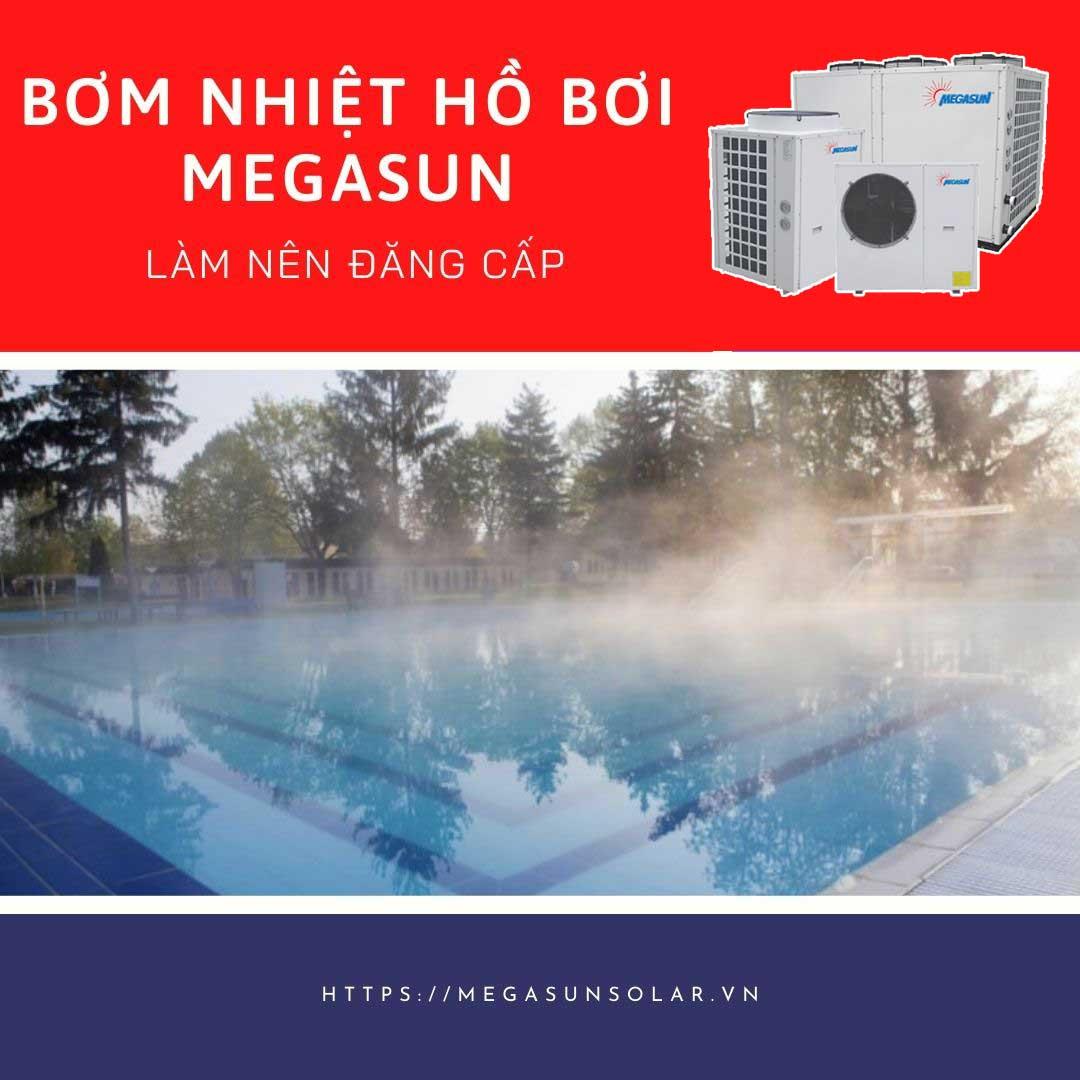 Máy bơm nhiệt cho bể bơi - heatpump bể bơi Megasun MGS-20HP-S