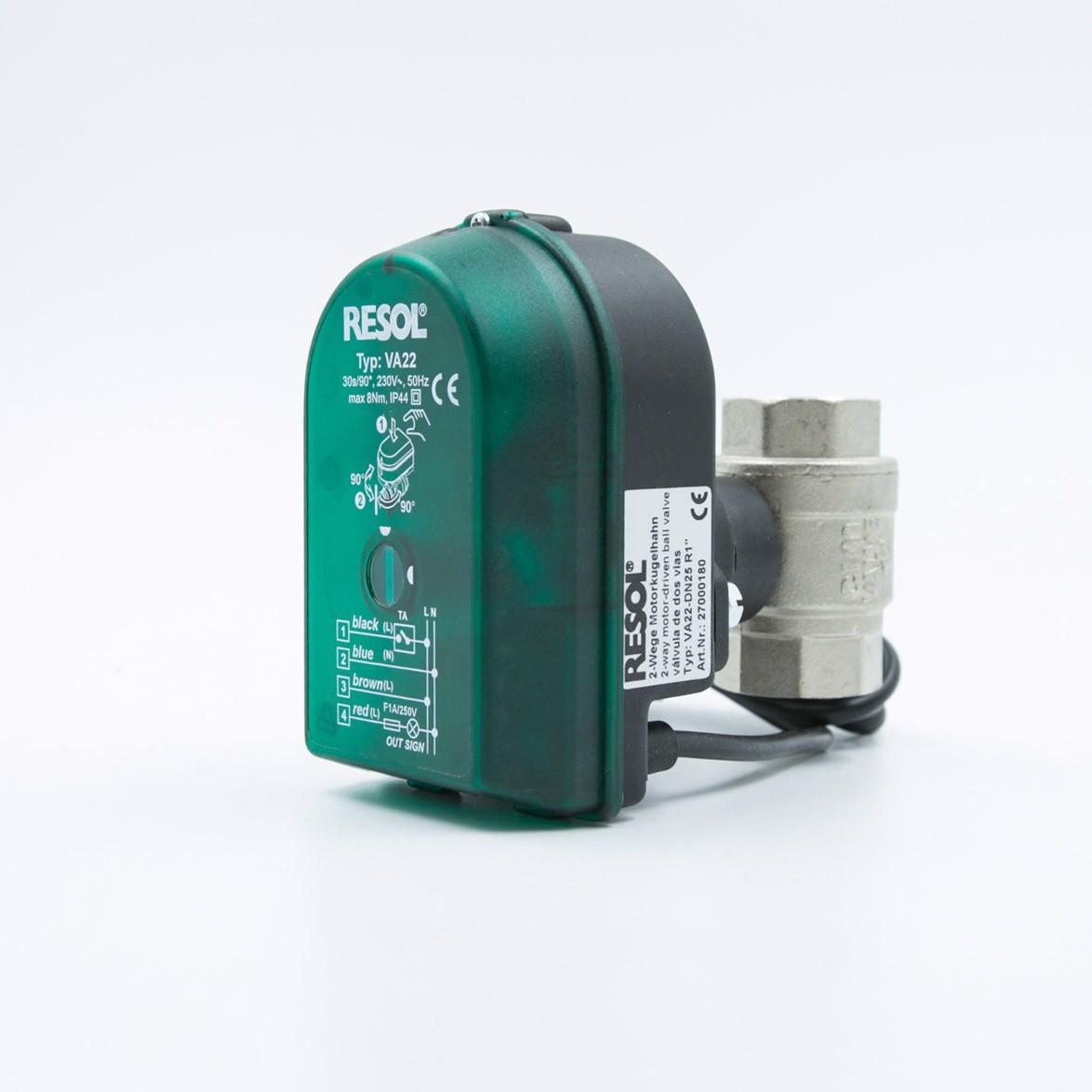 Van điện từ Resol VA22-DN25 nhập khẩu từ Đức