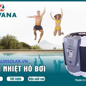 Máy làm nóng- Bơm Nhiệt Heat Pump cho Hồ Bơi Nirvana nhập khẩu Canada
