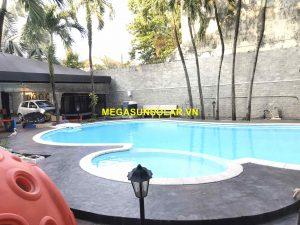 Bơm nhiệt nước nóng cho hồ bơi bốn mùa Nirvana F65