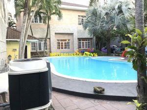 Bơm nhiệt nước nóng cho hồ bơi Nirvana F80