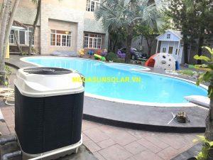 Bơm nhiệt nước nóng bể bơi Nirvana F120
