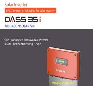 Bộ chuyển đổi điện inverter DASS 3.5KW Hàn Quốc