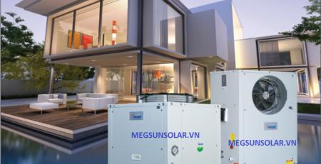máy nước nóng bơm nhiệt dân dụng Megasun