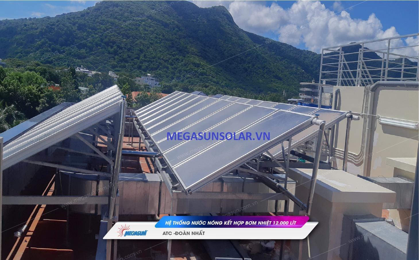 Hệ thống tấm thu năng lượng mặt trười Megasun MGS-2000BLT