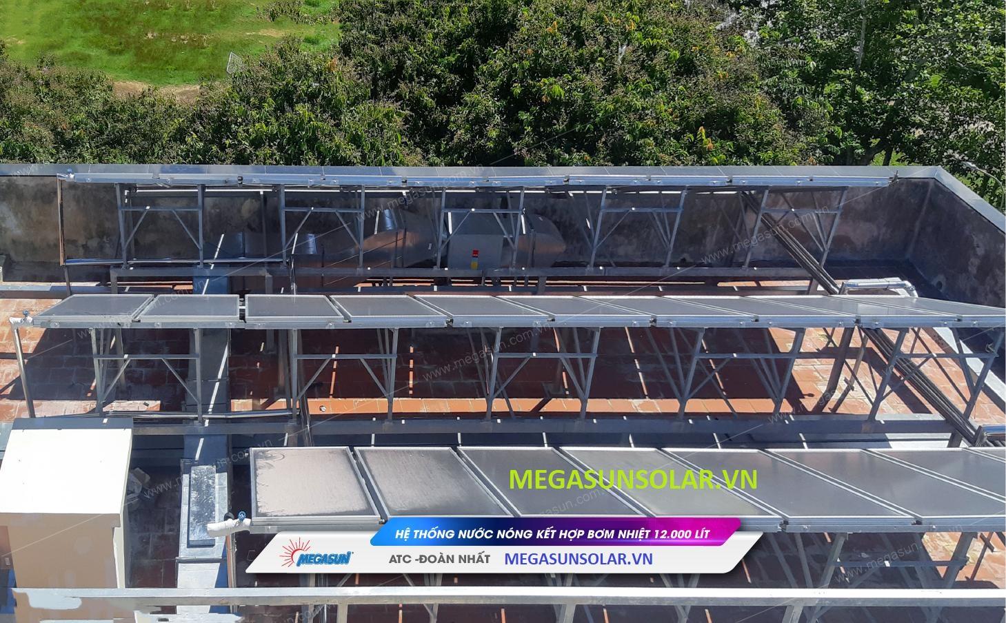 Nước nóng trung tâm năng lượng mặt trời Megasun