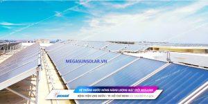 Tấm phẳng năng lượng mặt trời công nghiệp Megasun