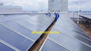 Tấm thu năng lượng mặt trời dạng tấm phẳng Megasun MGS-2000BLT