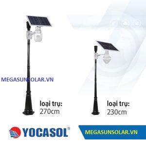 Đèn LED năng lượng mặt trời dạng cột