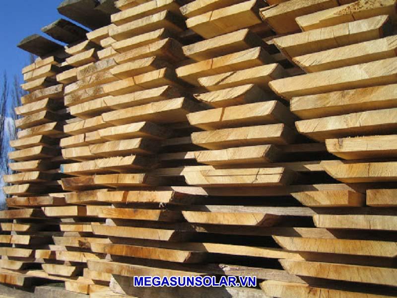 sấy khô gỗ